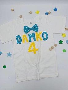 Detské oblečenie - BODY, BODIČKO na oslavu, personalizované TRIČKO - 13206797_