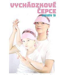 Detské čiapky - Čepiec so šiltom mama & dcéra - 13206229_