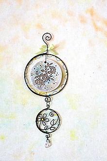 Dekorácie - jarné kvietky (*25cm) - 13203462_