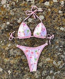 Bielizeň/Plavky - Handmade plavky Pink - 13205489_