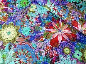Textil - Bavlnená látka Venice Jewel - 13208233_