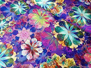 Textil - Bavlnená látka Venice Jewel II - 13208263_