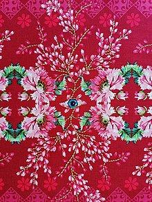 Textil - Bavlnená látka The Queen´s Spy - Rose - 13208910_