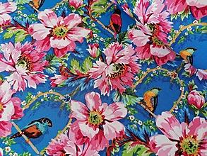 Textil - Bavlnená látka The Queen´s Musicians Royal - 13208988_