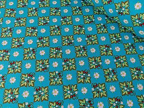 Textil - Bavlnená látka Palace Garden (Jahôdky) - 13209037_