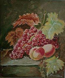 Obrazy - Zátišie -ovocie - 13207464_