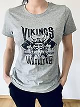 Topy, tričká, tielka - Tričko Viking - 13208900_