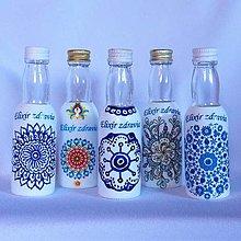Nádoby - Darčekové fľaštičky Elixír zdravia - 13207660_