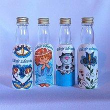 Nádoby - Darčekové fľaštičky Elixír zdravia II - 13207671_