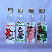 Nádoby - Darčekové fľaštičky Elixír šťastia - 13207685_