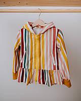 Detské oblečenie - Mikina s volánom - 13208358_