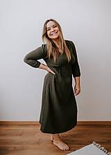 Šaty - Mušelínové šaty Dominika  (Trojštvrťový rukáv) - 13208604_
