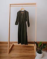 Šaty - Mušelínové šaty Dominika  (Trojštvrťový rukáv) - 13208622_