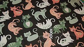 Textil - mačky metráž - 13209352_