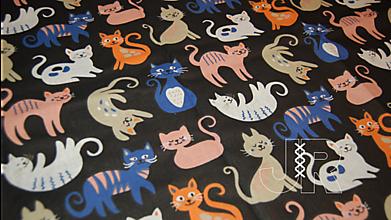 Textil - mačky metráž - 13209333_