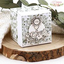 Papiernictvo - Darčeková krabička k 1. sv. prijímaniu / birmovke IV - 13211830_