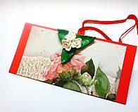 Papiernictvo - Obálka na darček I - 13212598_