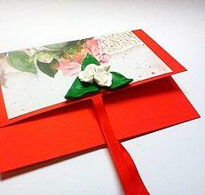 Papiernictvo - Obálka na darček I - 13212606_