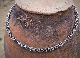 Šperky - Pánsky náhrdelník BRASS - 13211984_