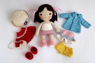 Hračky - Bábika s oblečením - 13213096_