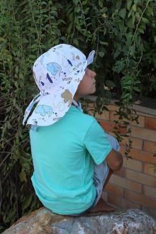 Detské čiapky - Rastúci klobúčik Pampalíni - 100% Ba - Slůně - 13210764_