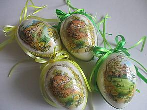 Dekorácie - Veľkonočné vajíčko - 13210875_