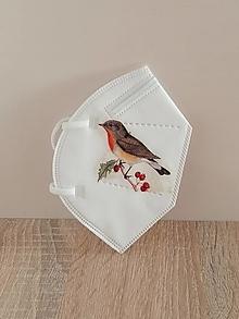 Rúška - respirátor vtáčik 3 - 13213522_