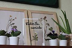 Obrázky - Ľúbim Ťa, maminka Darček pre mamičku na narodeniny, Deň matiek - 13211052_