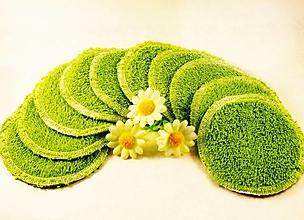 Úžitkový textil - Machové textilné tampóny 10 ks - 13210395_