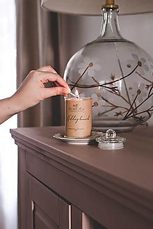 "Svietidlá a sviečky - Sójová sviečka ""Nedeľný brunch"" - 13211762_"
