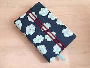 Papiernictvo - Obal na knihu - Veľké kvety na vode - 13214047_