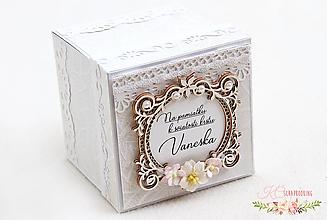 Papiernictvo - Darčeková krabička ku krstu I - 13217695_