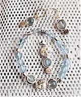 Sady šperkov - Topásový kremeň - 13214864_