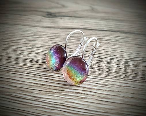Náušnice Light rainbow