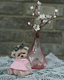 Hračky - Mini medvedica Marleen - 13215155_