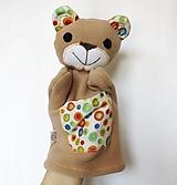 Hračky - Maňuška medveď - Macko z Veselého kolečkova - 13214643_