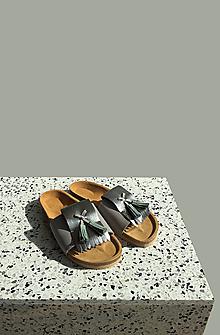 Obuv - Korkáče Grey/Minty Strapp - 13218600_