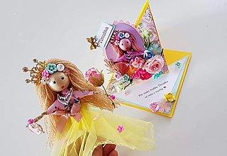 Bábiky - Víla / bábika Timuška - 13216109_