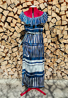 Šaty - Šaty s volánom - 13214951_