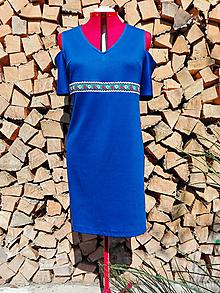 Šaty - Šaty s folklórnou stužkou - 13215244_