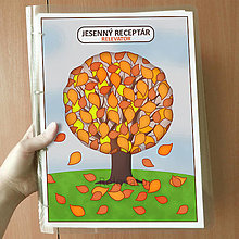 Papiernictvo - Strom receptár - jeseň - 13218203_