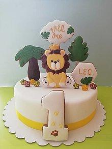 Dekorácie - Medovnikove komponenty na tortu - 13221451_