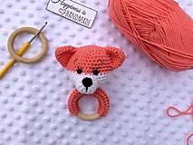 Hračky - Hrkálka líška - 13221743_