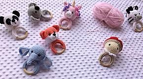 Hračky - Hrkálka sloník - 13221798_