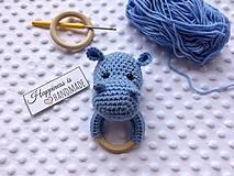 Hrkálka hrošík - modrý