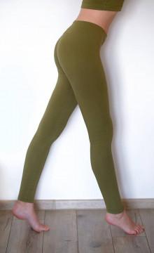 Nohavice - DIZAJNOVÉ LEGÍNY jednofarebné - 13222393_