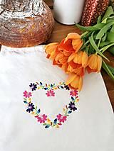 Úžitkový textil - Vrecko na chlieb - 13219450_