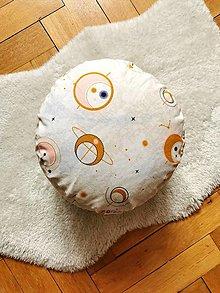 Úžitkový textil - Meditačný vankúš VESMÍR - 13219313_