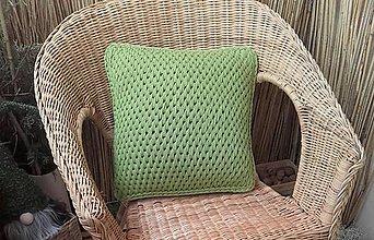 Úžitkový textil - Vankúš AMAZONIA green - 13221349_