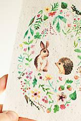 """Papier - Špeciálna kvitnúca pohľadnica """"Kamilky"""" - 13222853_"""